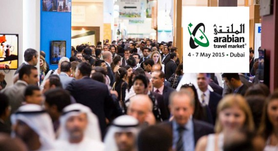 Arabian Travel Market ATM 2015 by Sand Aviation